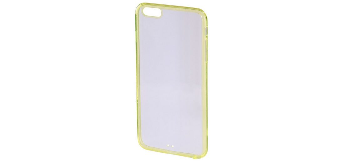 Hama Cover Frame für Apple iPhone 6/6s, Gelb