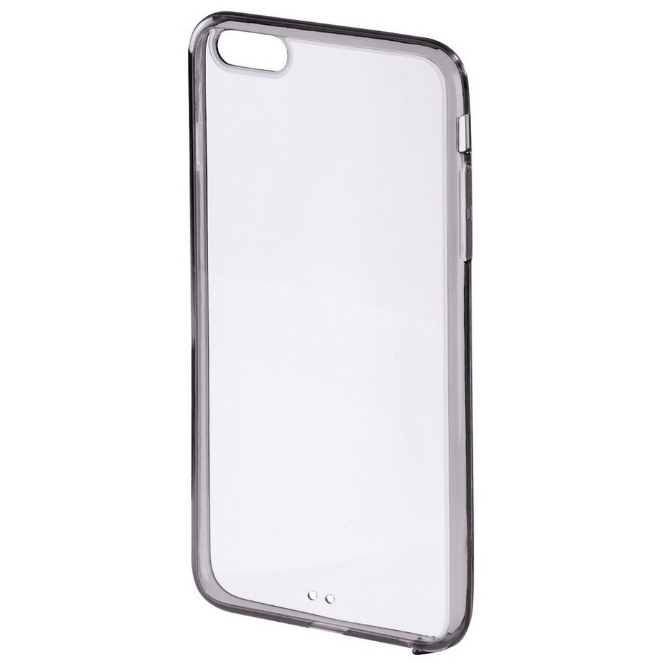 Hama Cover Frame für Apple iPhone 6/6s, Schwarz in Transparent