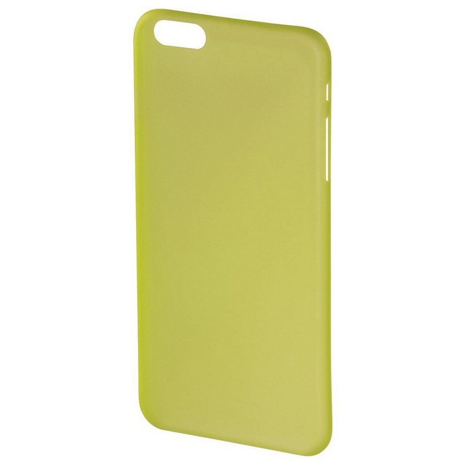Hama Cover Ultra Slim für Apple iPhone 6/6s, Gelb in Gelb