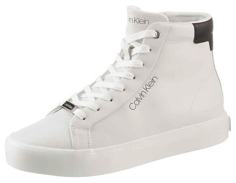 Calvin Klein Sneaker mit kontrastfarbenem Ferseneisatz
