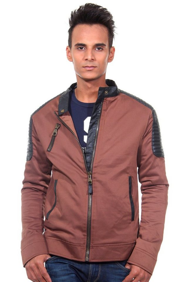 CATCH Übergangsjacke slim fit in braun