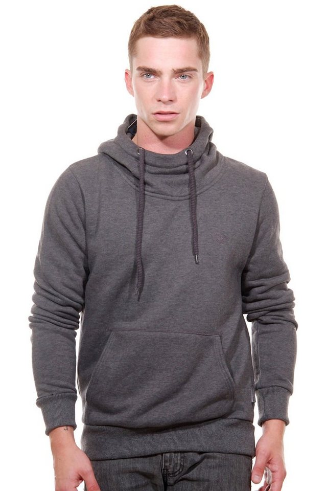 OBOY Streetwear Kapuzensweater regular fit in anthrazit