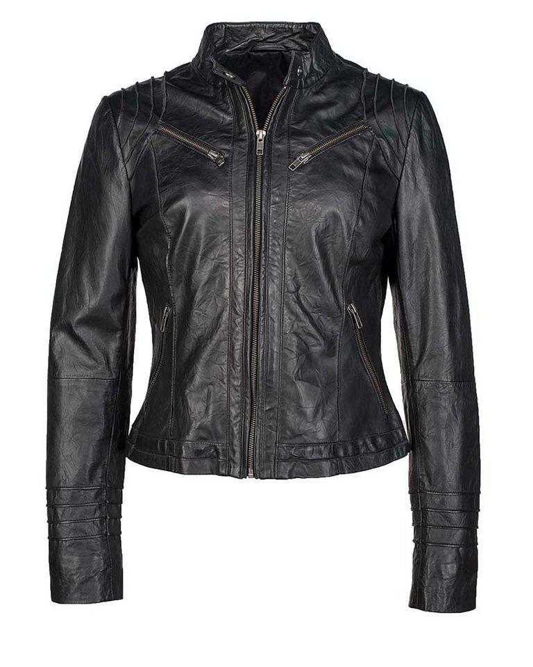 JCC Lederjacke, Damen »Coll-14-11« in black
