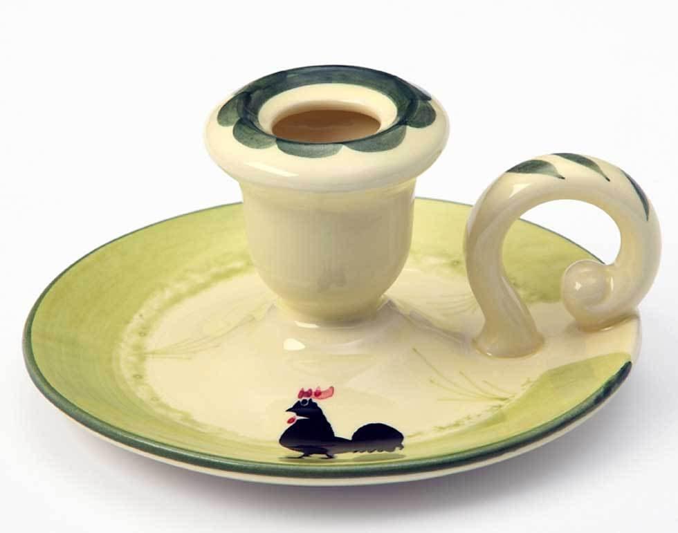 Zeller Keramik Leuchter »Hahn und Henne«