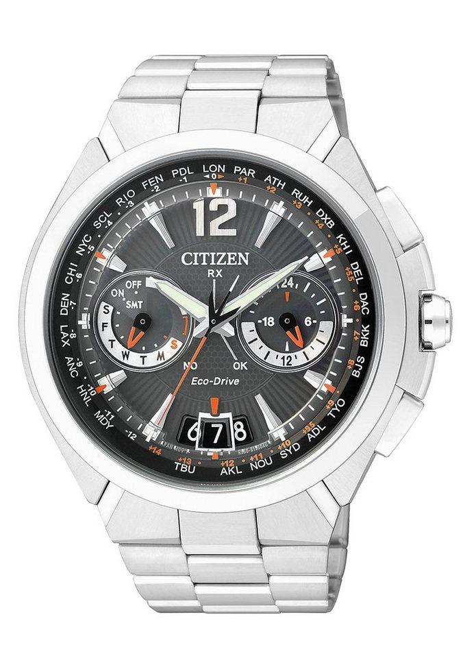 Citizen Multifunktionsuhr »CC1090-52E« Mit Satelitte Timekeeping System in silberfarben