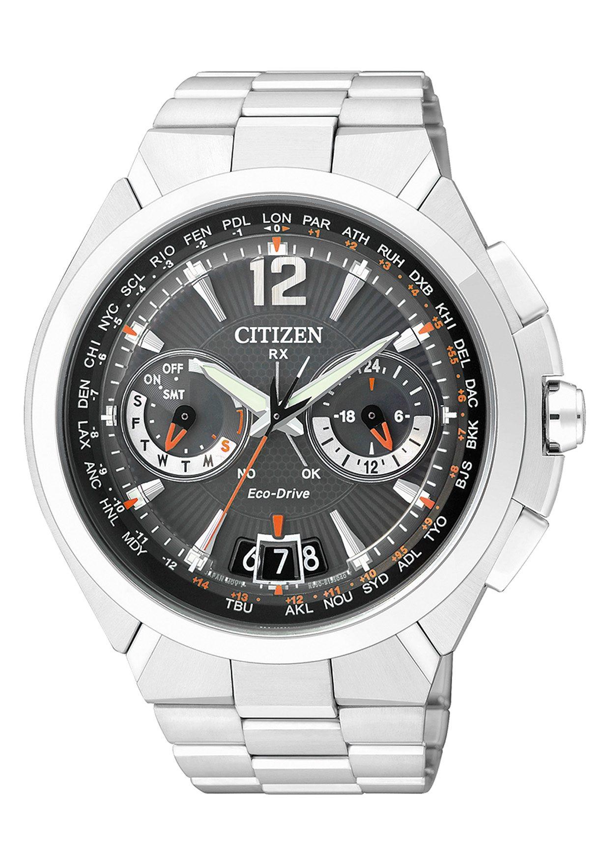 Citizen Funk-Multifunktionsuhr »CC1090-52E«, mit Satellite Timekeeping System