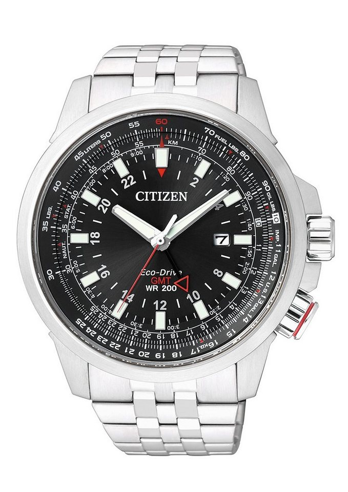 "Citizen, Armbanduhr, ""BJ7070-57E"" in silberfarben"