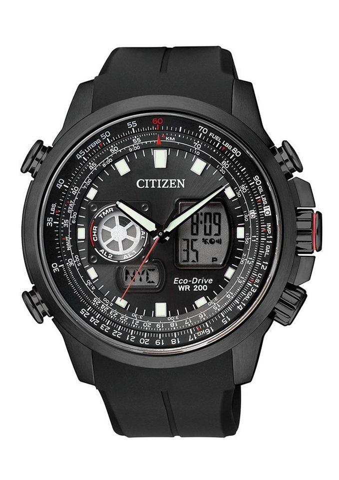 Citizen Chronograph »JZ1065-05E« in schwarz