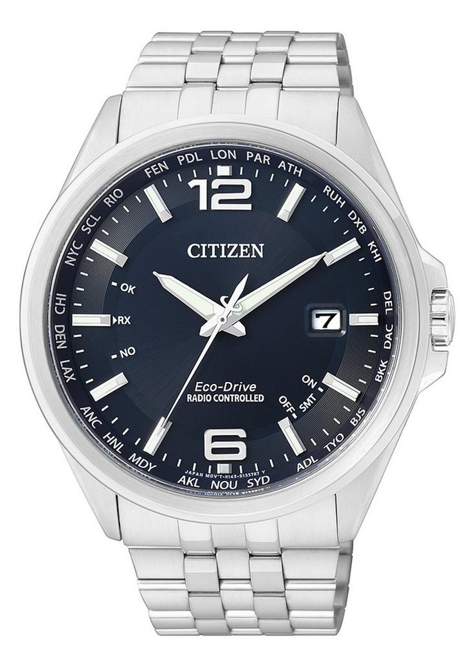 Citizen Funkuhr »CB0010-88L« in silberfarben