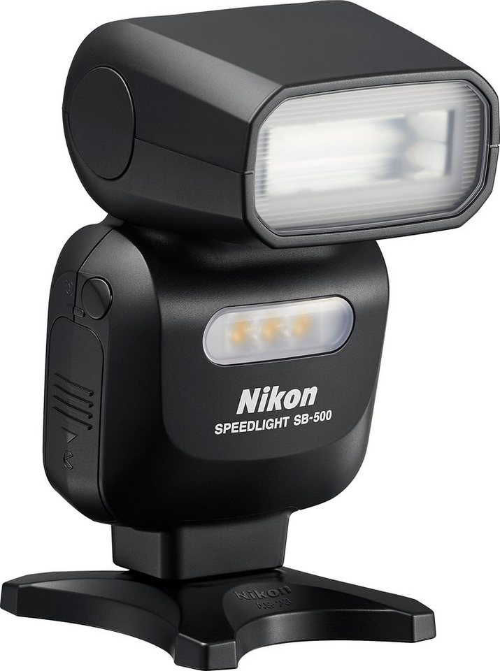 NIKON SB-500 i-TTL Blitzgerät, Leitzahl 24 (m, ISO 100, 23 °C)