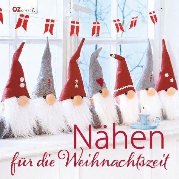 Gebundenes Buch »Nähen für die Weihnachtszeit«