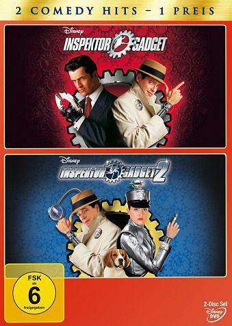 DVD »Inspector Gadget / Inspector Gadget 2 (2 Discs)«