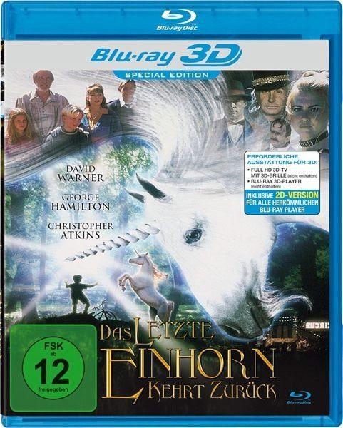 Blu-ray »Das letzte Einhorn kehrt zurück (Blu-ray 3D)«
