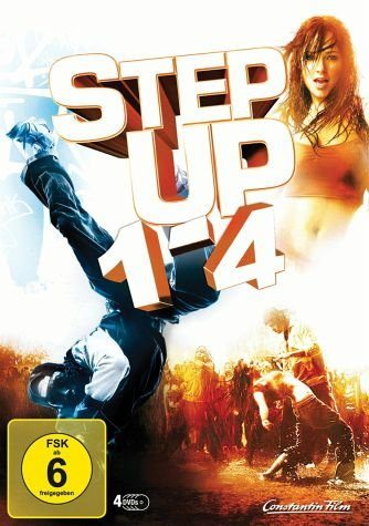 DVD »Step Up 1-4 (4 Discs)«