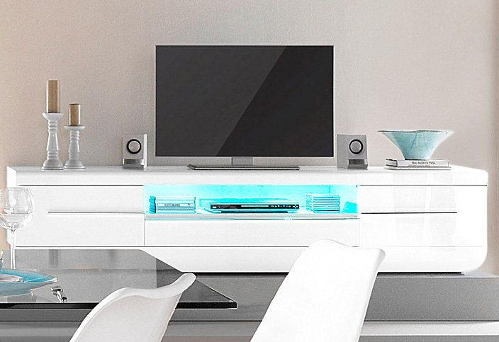 tv lowboard s c i a e floyd breite 220 cm otto. Black Bedroom Furniture Sets. Home Design Ideas