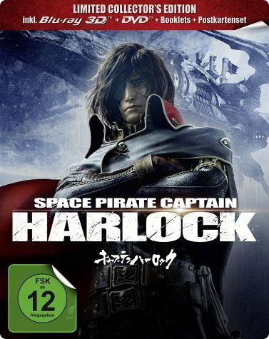 Blu-ray »Space Pirate Captain Harlock (Blu-ray 3D, +...«