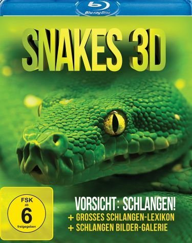 Blu-ray »Snakes 3D - Vorsicht: Schlangen!«