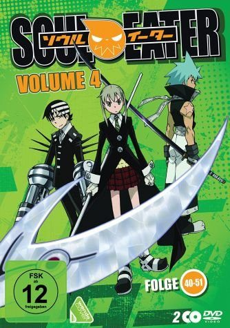 DVD »Soul Eater, Volume 4, Folge 40-51 (2 Discs)«