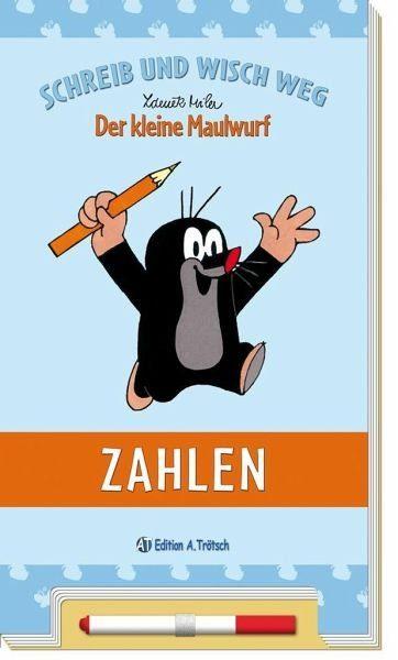 Buch mit Papp-Einband »Schreib und Wisch weg - Der kleine Maulwurf...«