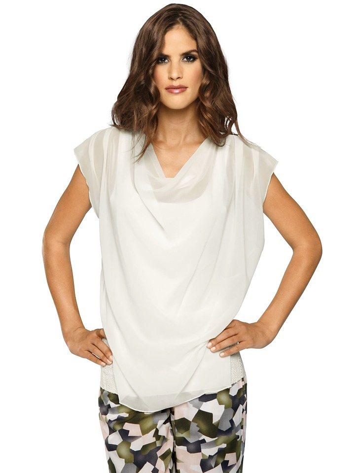 Shirttop in weiß