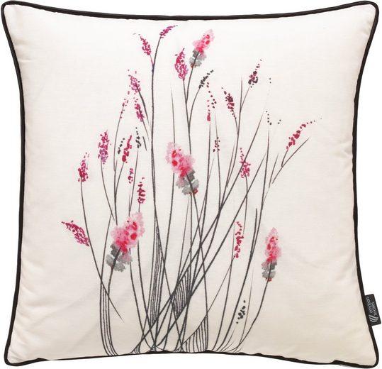 emotion textiles Kissenhülle »little inkflower«