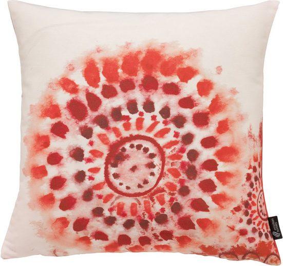 emotion textiles Kissenhülle »Batikblume«