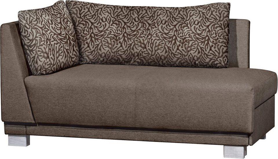 polsterliege mit umbau und bettkasten dreams4home polsterliege monaco polsterbett mit. Black Bedroom Furniture Sets. Home Design Ideas