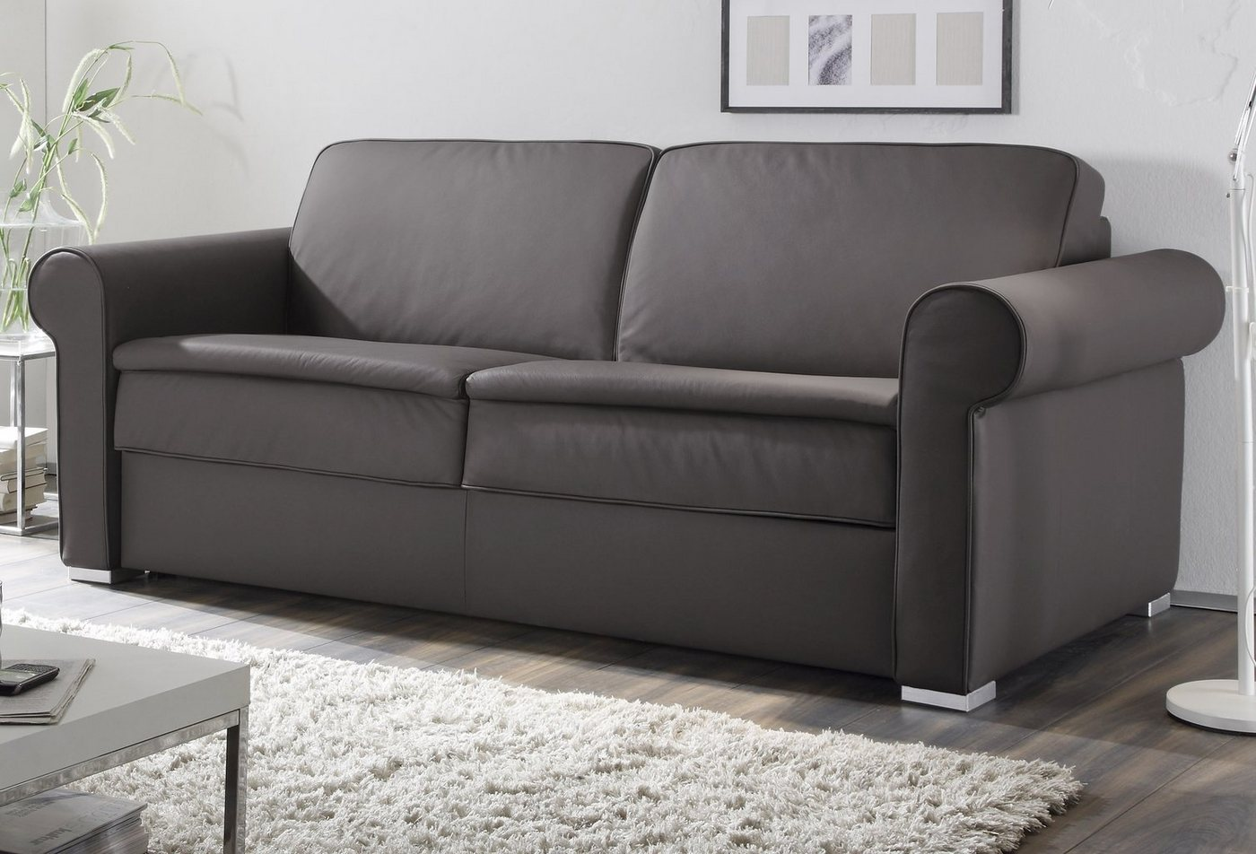 Schlafsofas - reposa Schlafsofa »Nova Comfort«, mit Dauerschlaffunktion, Breite 206 cm  - Onlineshop OTTO