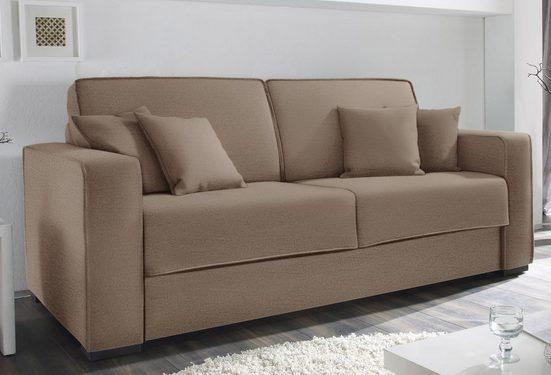 reposa Schlafsofa »Nova Plus«, mit Dauerschlaffunktion, Breite 220 cm