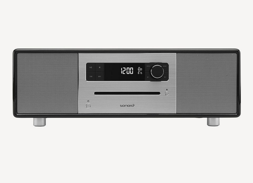 sonoro 2.1 System mit DAB+ & Bluetooth »sonoroSTEREO Schwarz«
