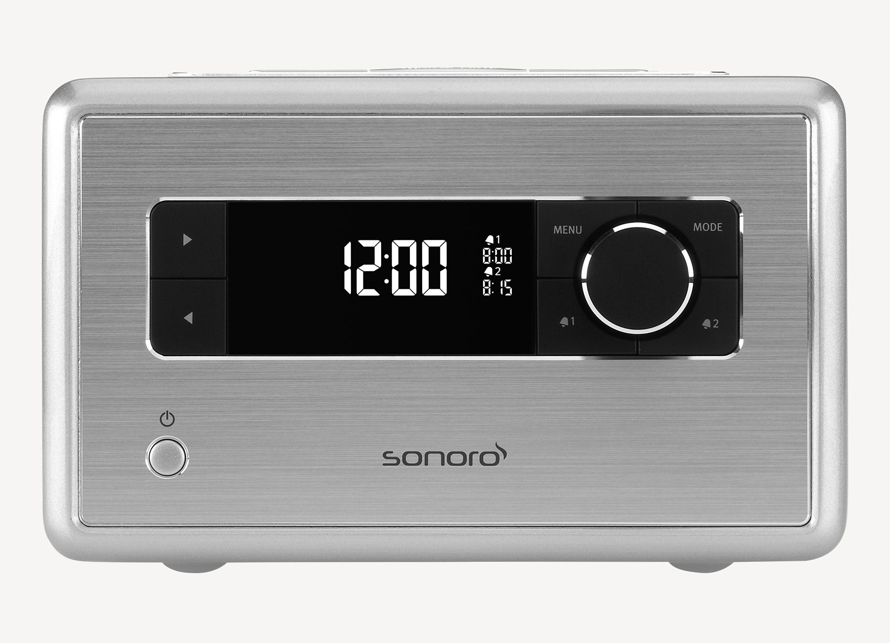 sonoro Digitalradio mit Bluetooth »RADIO Silber«