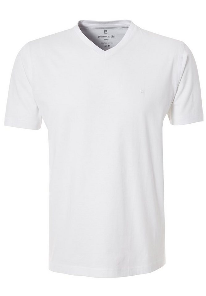 PIERRE CARDIN T-Shirt in WEISS
