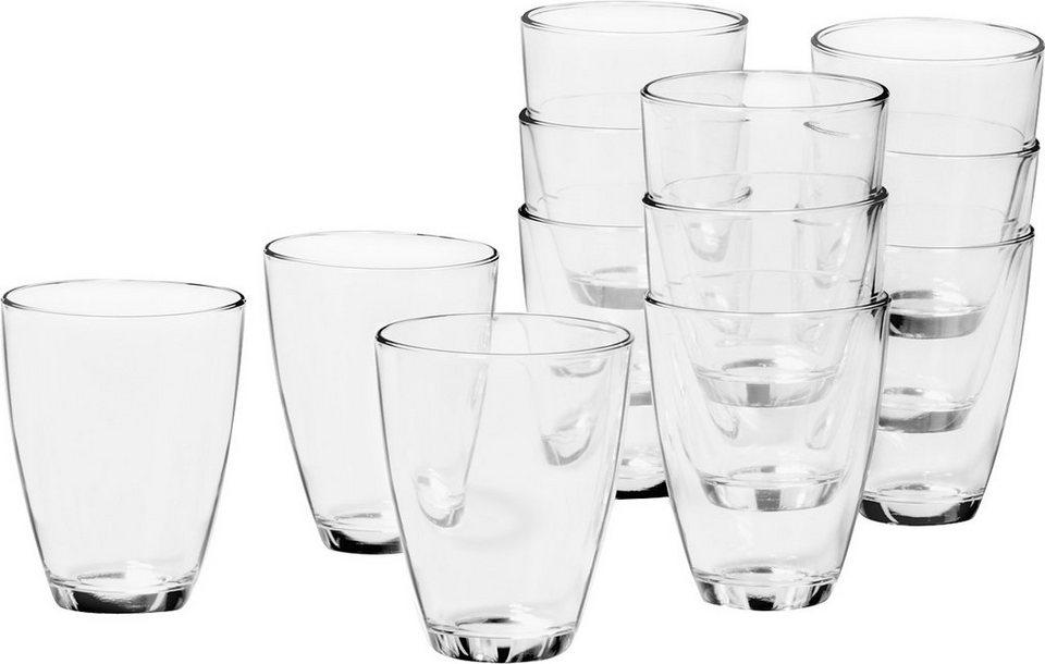 Set: Saftglas, Leonardo, »Salute« (12-tlg.) in klar
