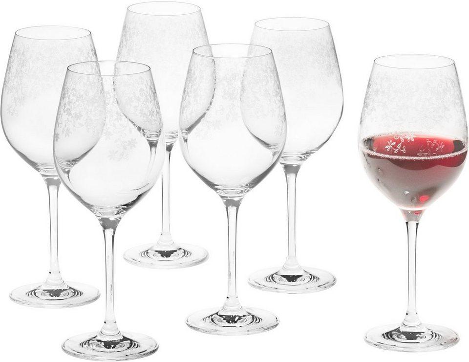 Set: Rotweinglas, Leonardo, »Chateau« (6-tlg.) in klar