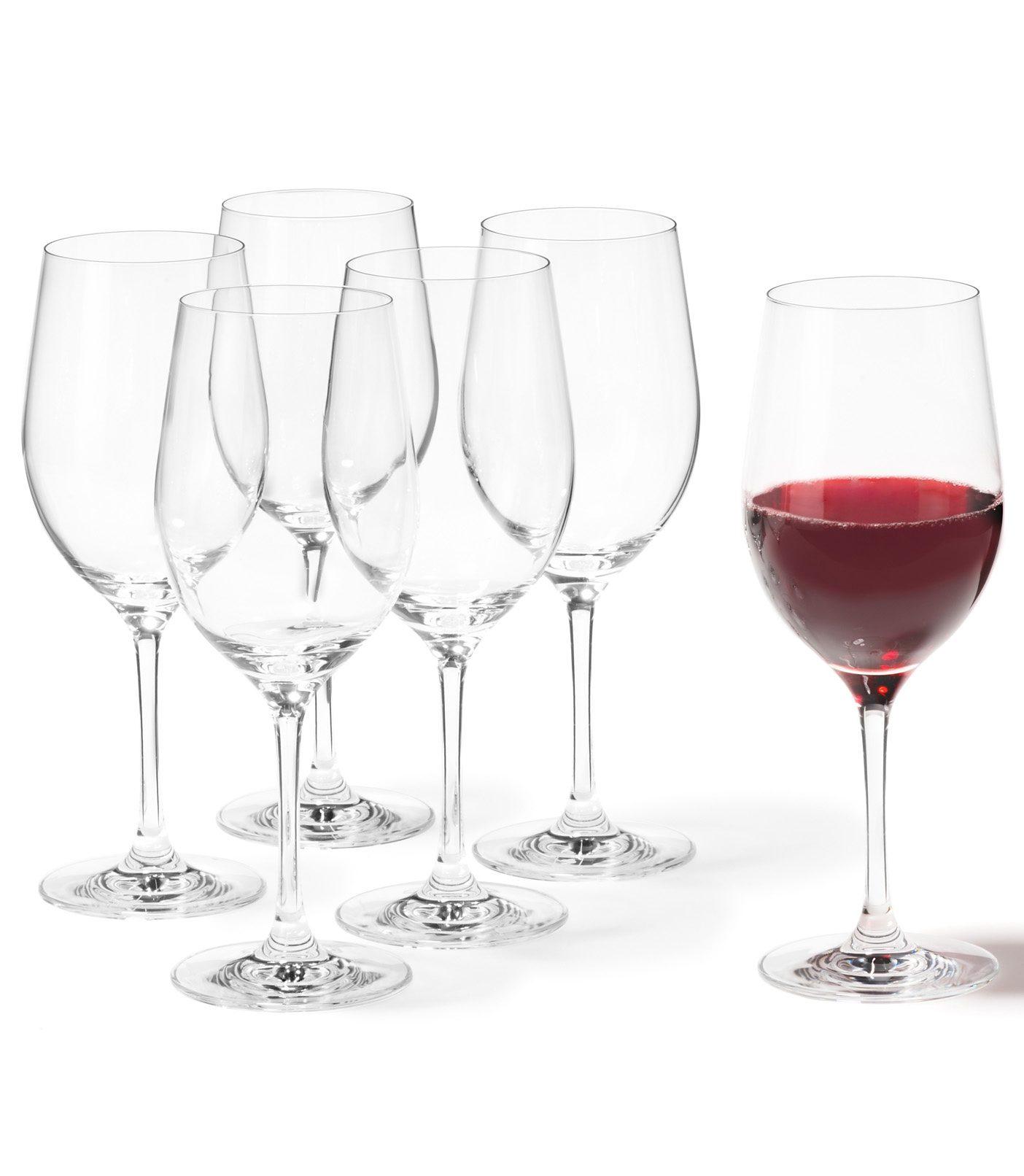 Set: Rotweingläser, Leonardo, »Ciao+« (6 Stck.)