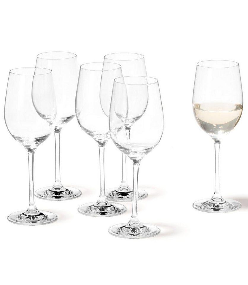 Set: Weißweingläser, Leonardo, »Ciao+« (6 Stck.) in klar