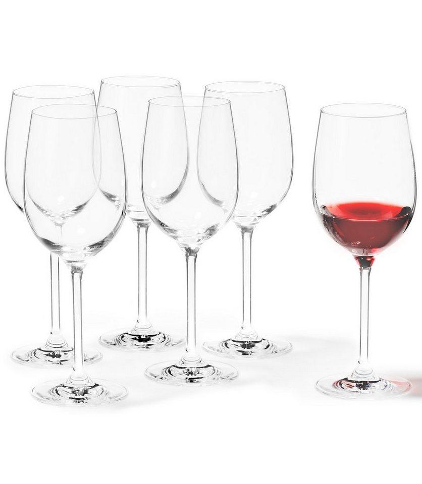 Set: Weißweingläser, Leonardo, XL »Ciao+« (6 Stck.) in klar