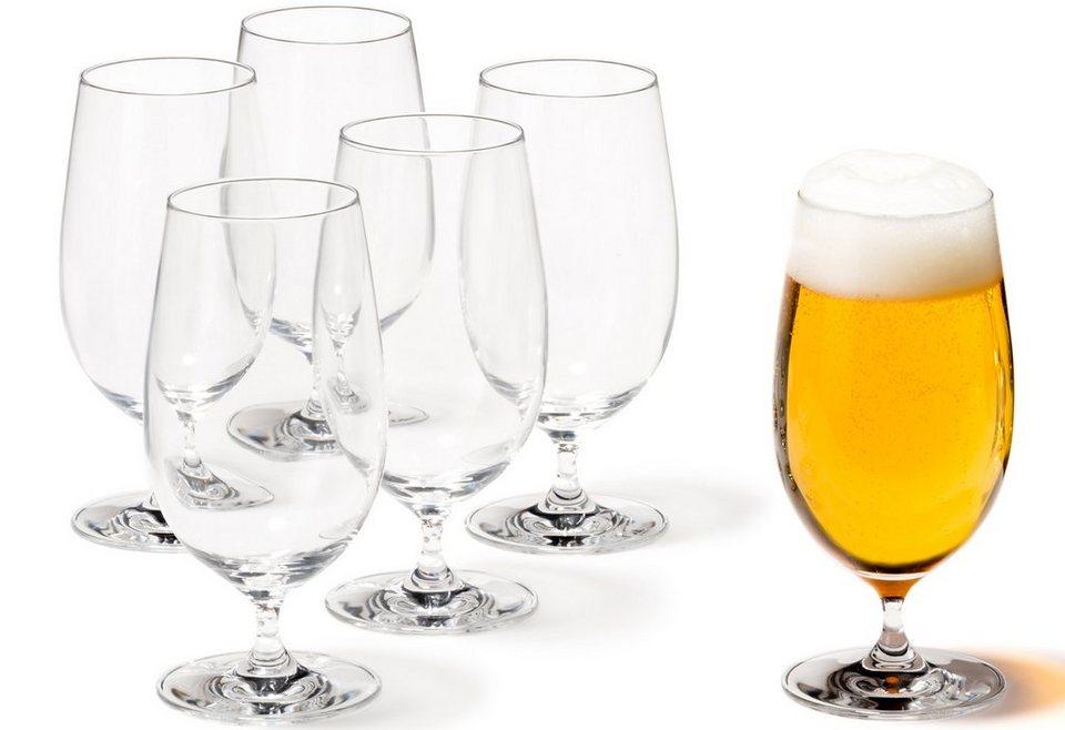 Set: Biergläser, Leonardo, »Ciao+« (6 Stck.) in klar
