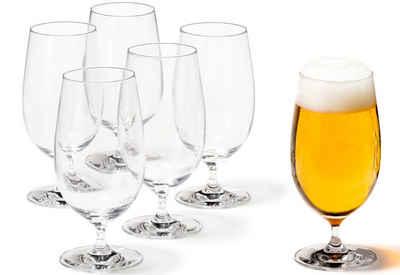 LEONARDO Bierglas, Glas, 6-teilig
