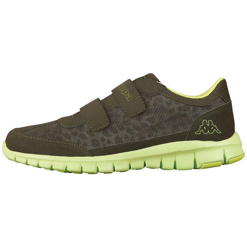 KAPPA Sneaker »CELEBRATION KIDS« in khaki/lime
