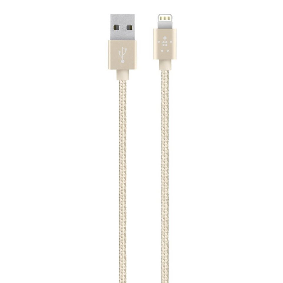 BELKIN Netzteil »CABLE CHARGER LIGHTINING SYNC gold«