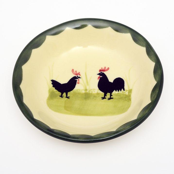 Zeller Keramik Zuckerschale »Hahn und Henne«