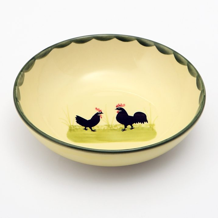Zeller Keramik Müslischale »Hahn und Henne«