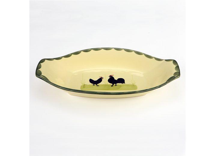 Zeller Keramik Brotkorb »Hahn und Henne«