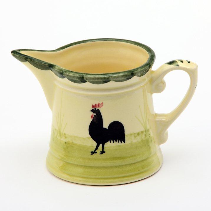 Zeller Keramik Rahmgießer »Hahn und Henne« in Mehrfarbig
