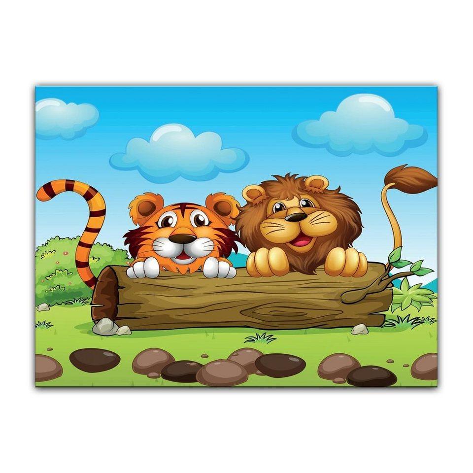 Bilderdepot24 Leinwandbild, Leinwandbild - Kinderbild