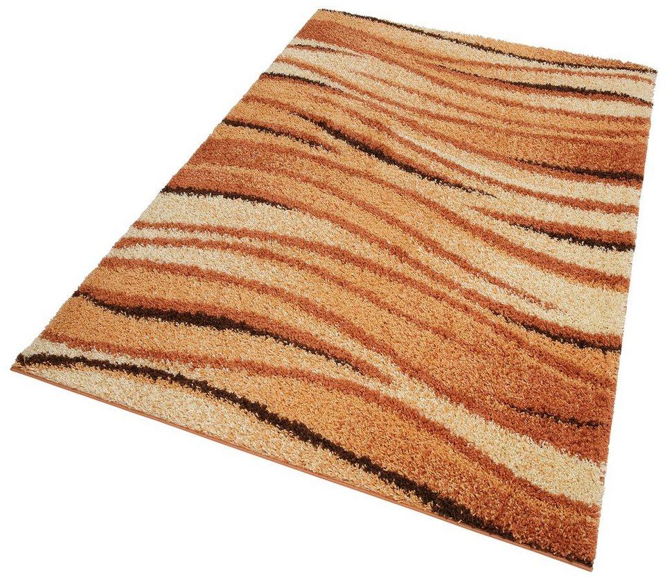Hochflor-Teppich, my home, »Jamie«, Höhe 30mm, gewebt in terra