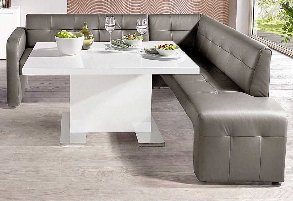 esszimmer eckbank leder preisvergleiche erfahrungsberichte und kauf bei nextag. Black Bedroom Furniture Sets. Home Design Ideas