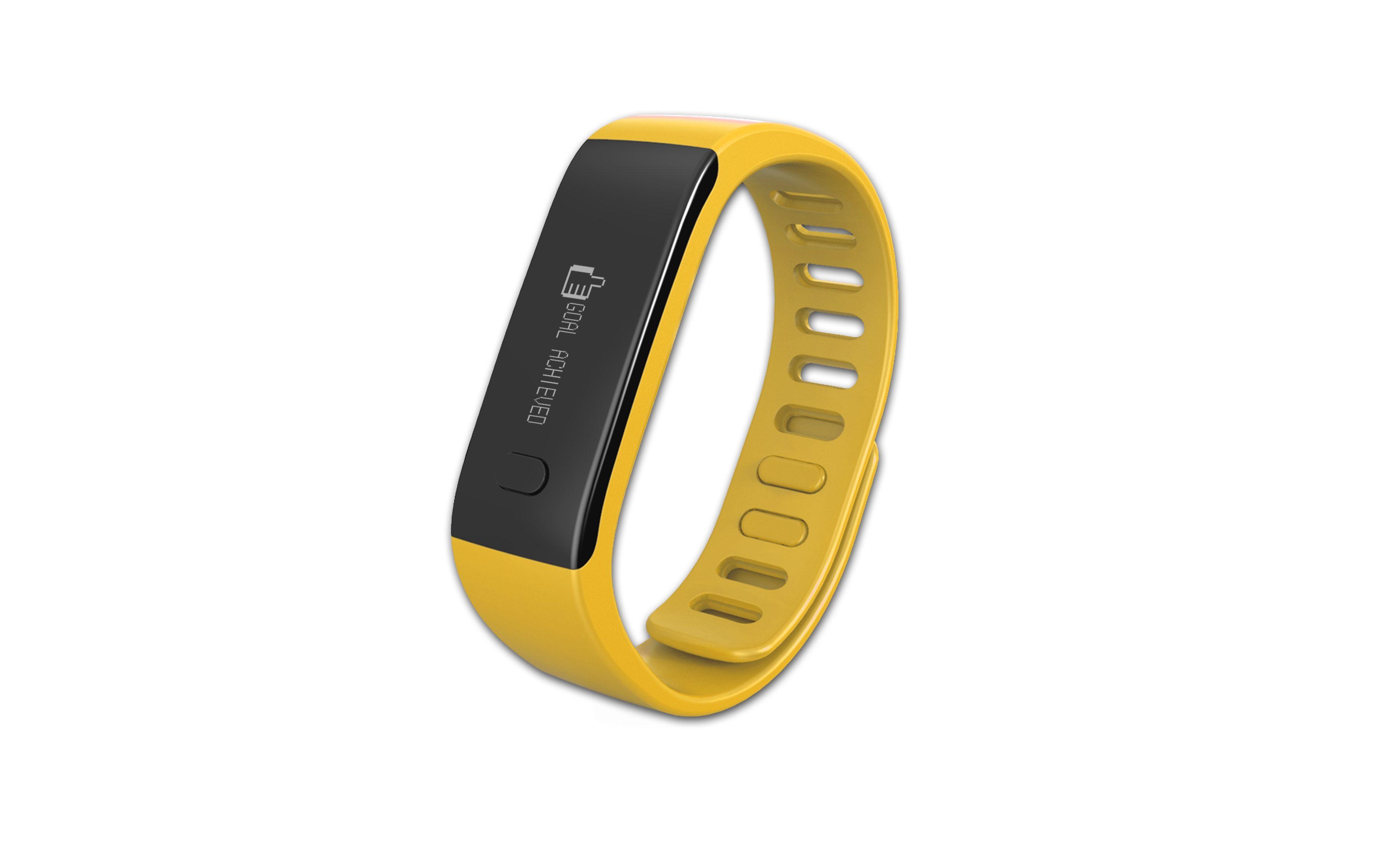 MYKRONOZ Fitnessband »ZeFit Tracker Uhr gelb«
