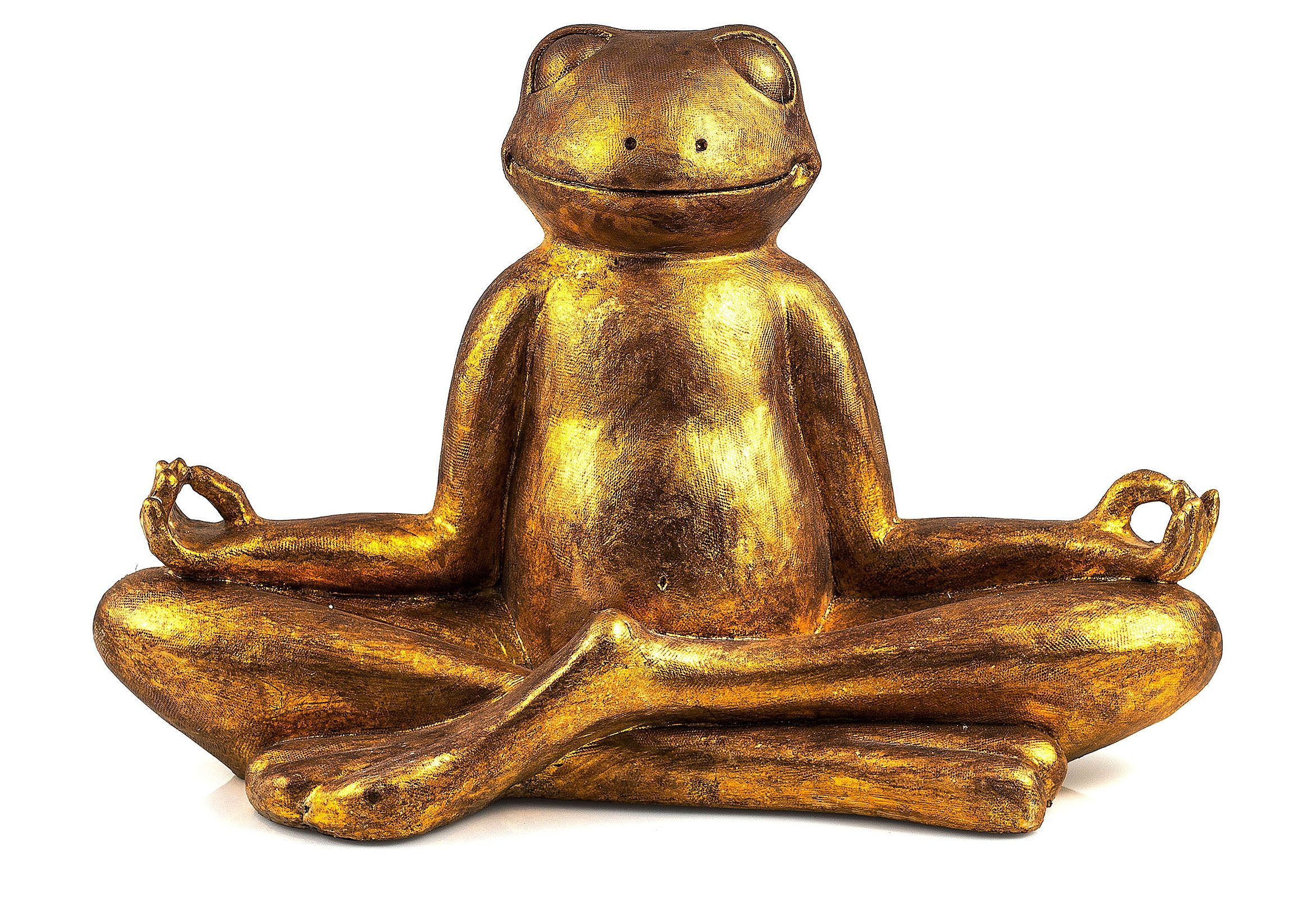 Dekofigur, Home affaire, »Frosch Mantra«